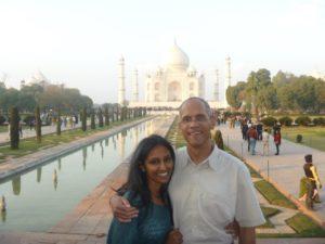 Brooks wife India